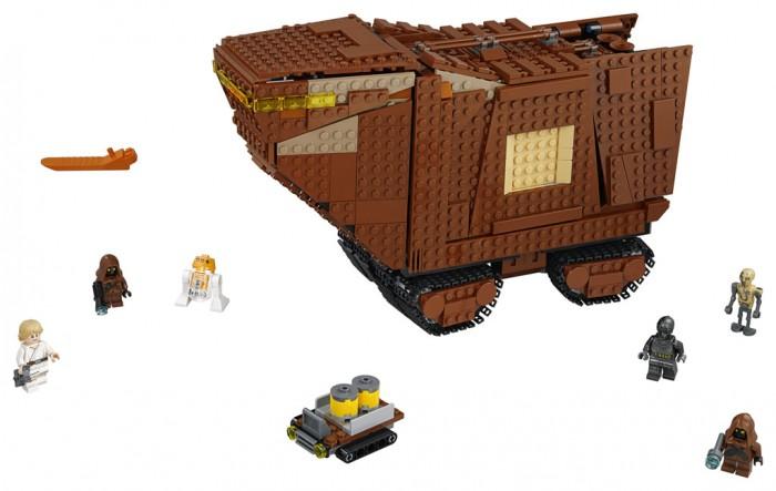 Конструктор Lego Star Wars 75220 Лего Звездные Войны Песчаный краулер