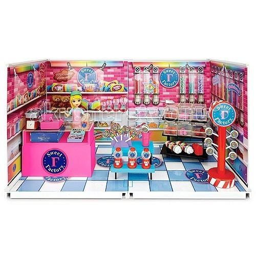 Кукольные домики и мебель miWorld Большой магазин сладостей 76673