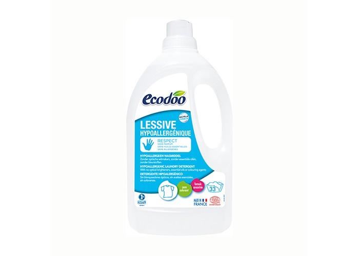 Купить Бытовая химия, Ecodoo Гипоаллергенное средство для стирки белья 1500 мл