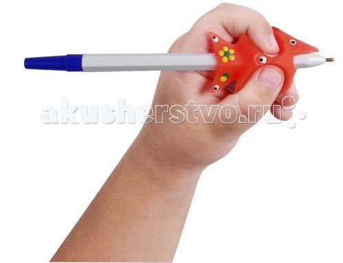 Канцелярия УникУМ Ручка-самоучка тренажер для левшей ручка тренажер для исправления техники письма