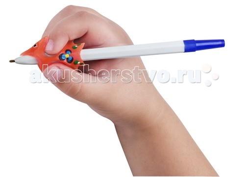 Канцелярия УникУМ Ручка-самоучка тренажер для правшей ручка тренажер для исправления техники письма