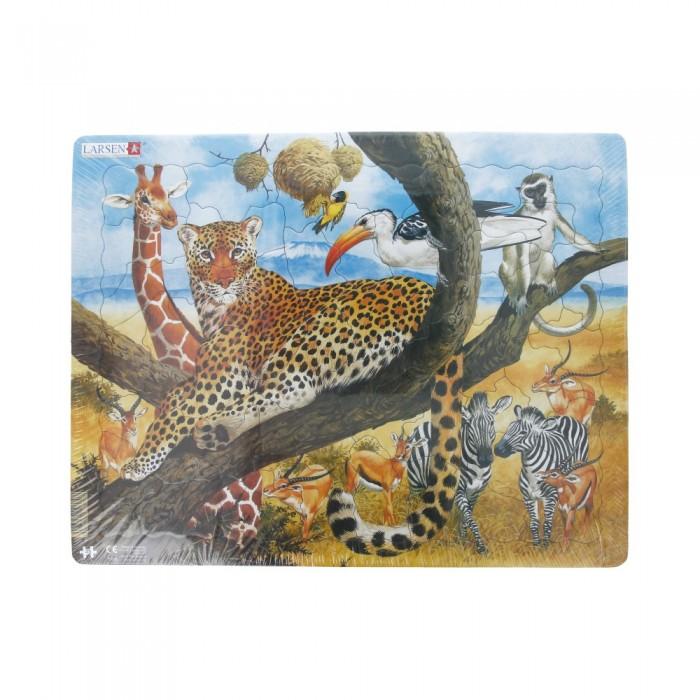 Картинка для Larsen Пазл Леопард
