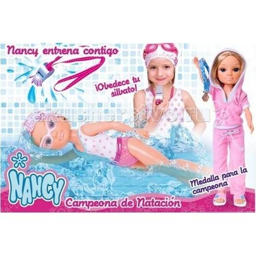 Куклы и одежда для кукол Famosa Кукла Нэнси Чемпионка аксессуары для телефонов ems dhl c5 nemo c5