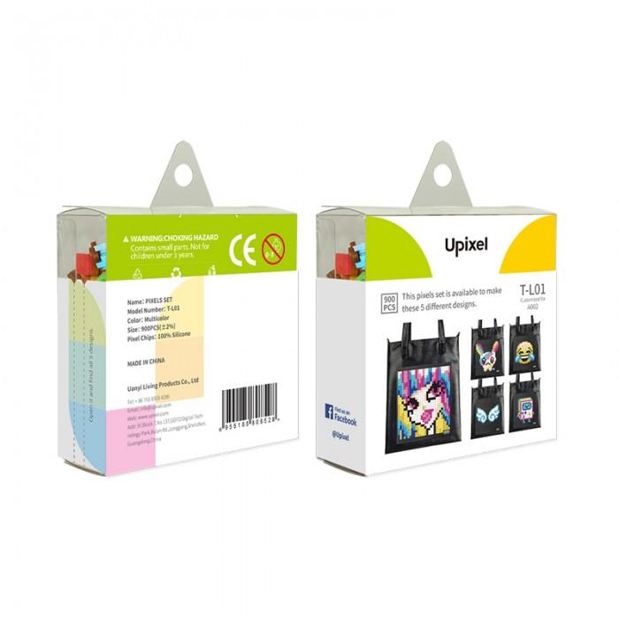 Upixel Комплект пикселей собери любую из 5 картинок T-L01 900 шт.