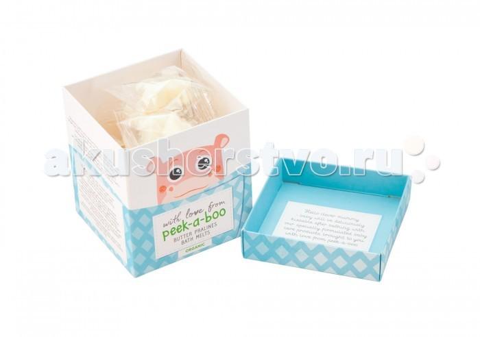 Детская косметика Peek-а-boo Органическое таящее детское масло для ванны пралине 140 г цена