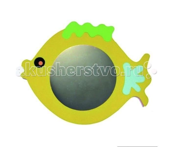 Игрушки для ванны Edushape Зеркало для ванны Рыбка