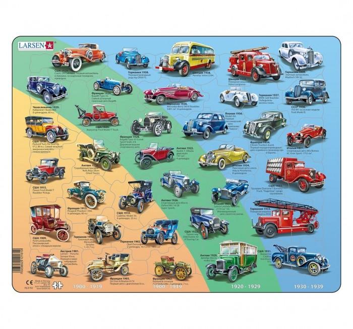 Картинка для Larsen Пазл История автомобилей