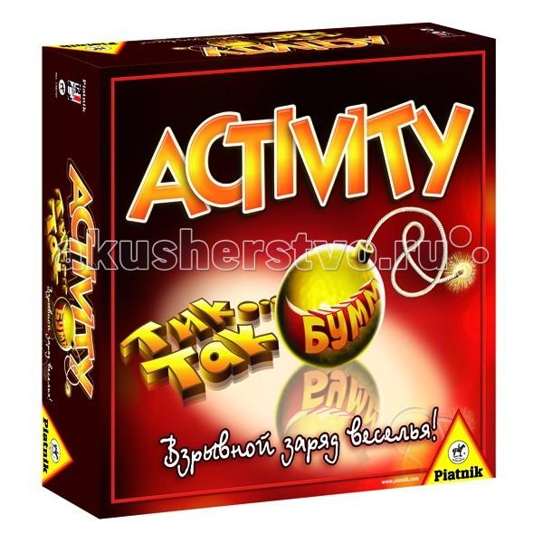 Настольные игры Piatnik Настольная игра Activity Тик Так Бумм тик так тик так н212 4 черные