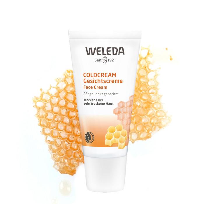 Купить Косметика для мамы, Weleda Защитный крем Coldcream 30 мл