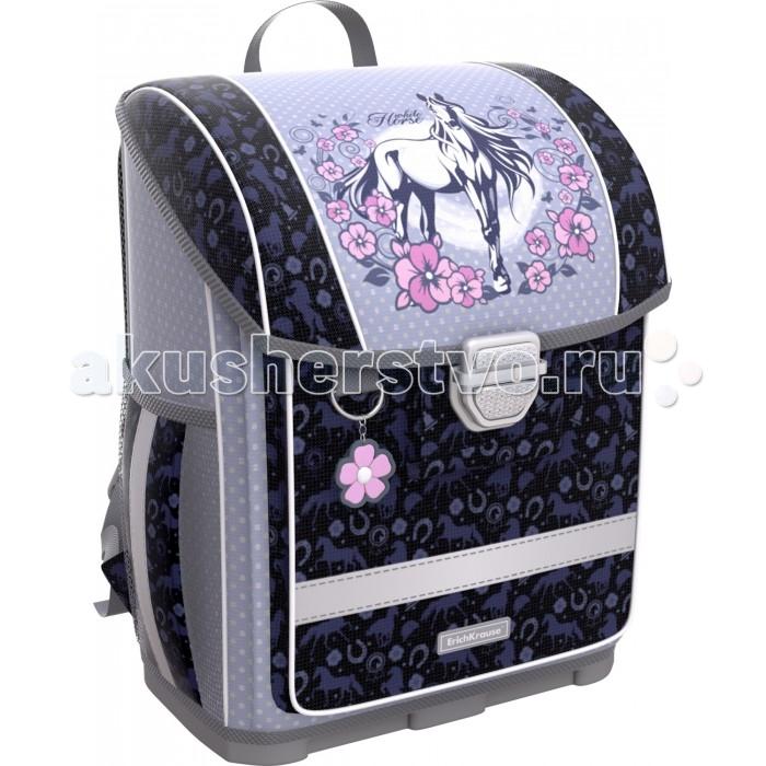 Купить Школьные рюкзаки, Erich Krause Ранец ErgoLine c пластиковым дном White Horse 16 л