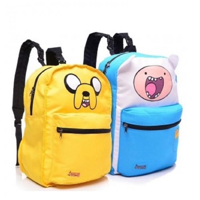 Школьные рюкзаки Bioworld Рюкзак Adventure Time Finn & Jake двусторонний, Школьные рюкзаки - артикул:578826