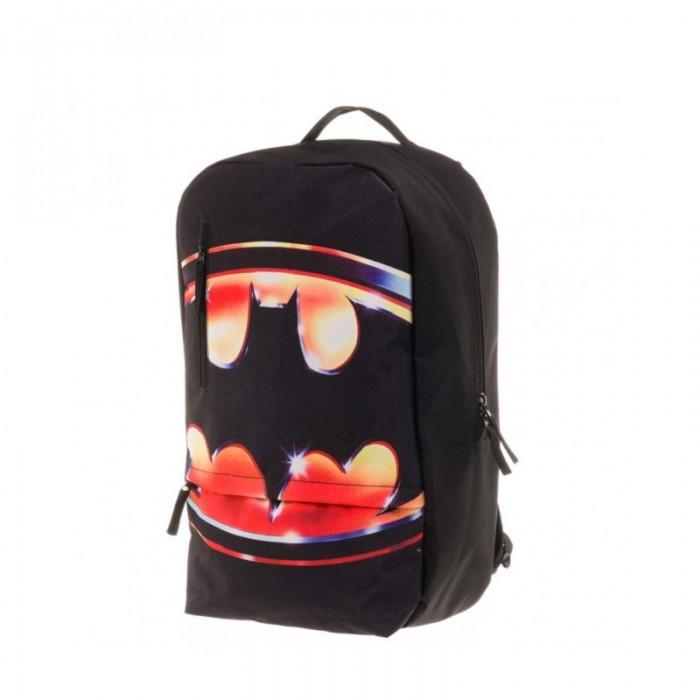 Школьные рюкзаки Bioworld Рюкзак Batman Logo Flat большой mens batman logo badge bifold wallet dft 1327