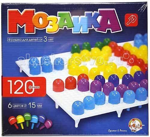 Мозаика Тридевятое царство Мозаика (120 элементов) 00965 мозаика тридевятое царство мозаика магнитная 20 120 00943