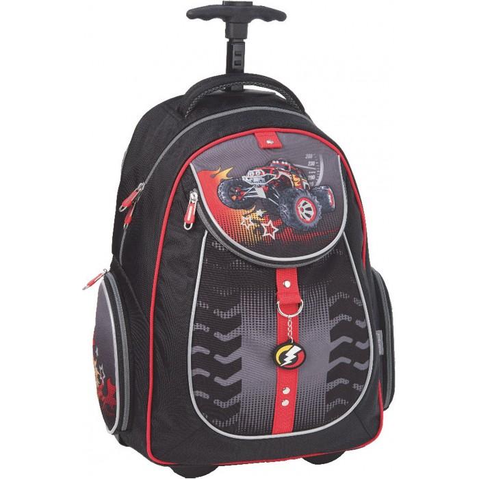 Школьные рюкзаки Erich Krause Рюкзак школьный на колесах BigFoot erich krause рюкзак школьный neon