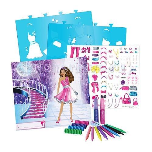 Fashion Angels Большой набор для творчества Барби Сверкающая мечта