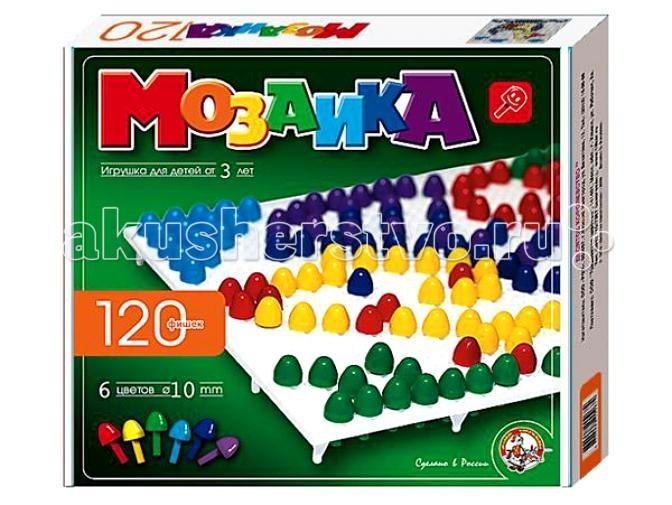Мозаика Тридевятое царство Мозаика (120 элементов) 00973 мозаика тридевятое царство мозаика магнитная 20 120 00943
