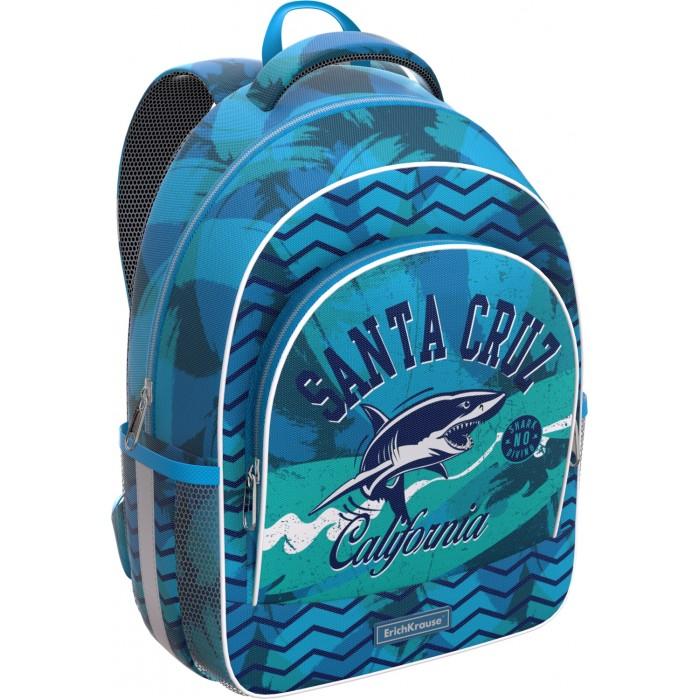 Школьные рюкзаки, Erich Krause Рюкзак ErgoLine California 14 л  - купить со скидкой