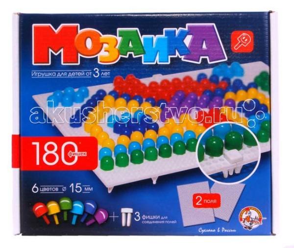 Мозаика Тридевятое царство Мозаика (180 элементов) 00967 мозаика тридевятое царство шестигранная мозаика 145 эл 5цв 00956