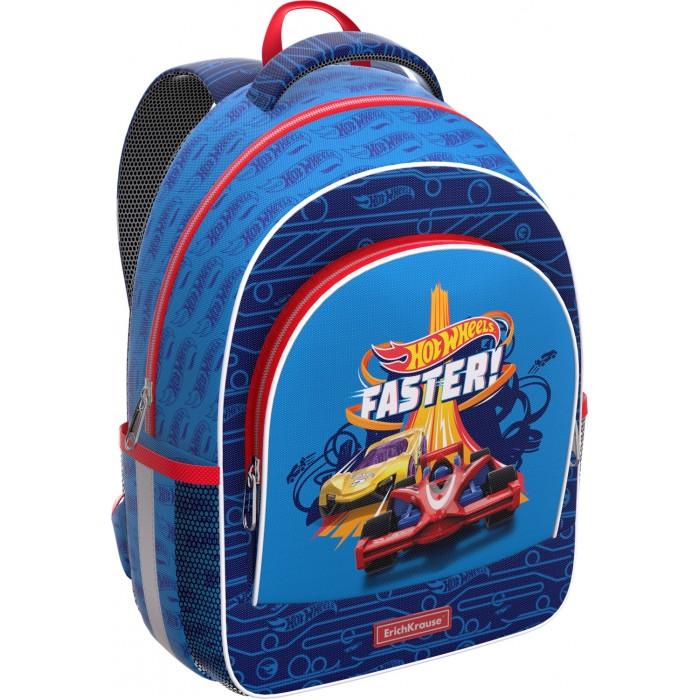 Школьные рюкзаки Erich Krause Рюкзак ErgoLine Hot Wheels Faster 14 л, Школьные рюкзаки - артикул:579441