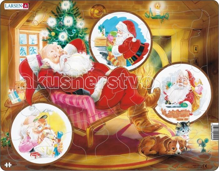 Купить Пазлы, Larsen Пазл Санта Клаус JUL2