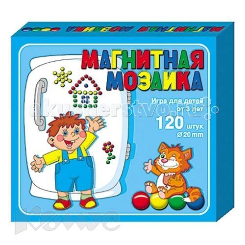 Мозаика Тридевятое царство Мозаика магнитная 20/120 00943 мозаика тридевятое царство мозаика 120 элементов 00965