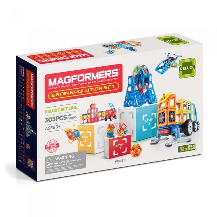 Конструктор Magformers Магнитный Brain Evolution set (317 деталей)
