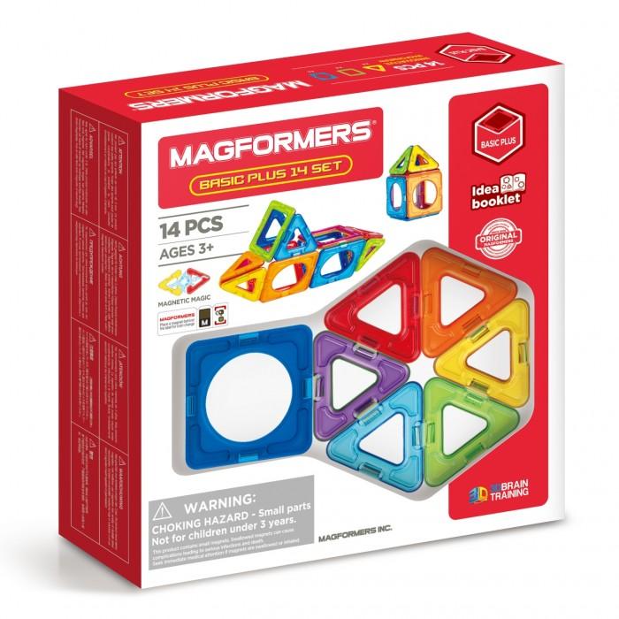 Конструктор Magformers Магнитный Basic Plus 14 set (14 деталей)