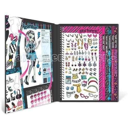 Развитие и школа , Детские наклейки Fashion Angels Делюкс набор с наклейками Школа монстров арт: 57963 -  Детские наклейки