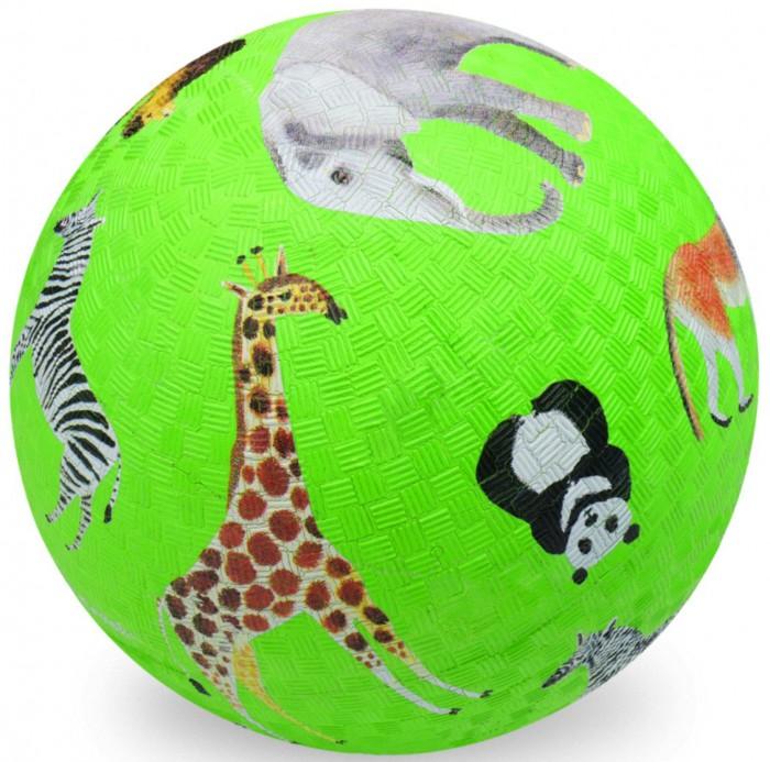 Мячики и прыгуны Crocodile Creek Мяч Дикие животные 18 см