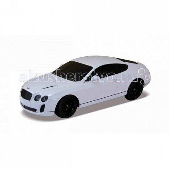 Машины Welly Радиоуправляемая модель машины 1:24 Bentley Continental машинки welly игрушка модель машины автокран