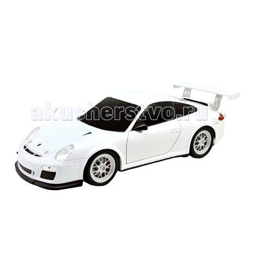 Машины Welly Радиоуправляемая модель машины 1:24 Porsche 911 GT3 Cup welly модель машины 1 24 aston martin v12 vantage welly