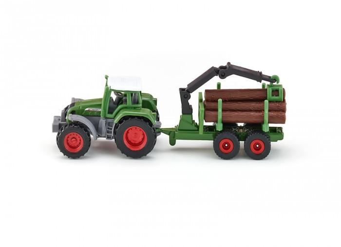 Машины Siku Трактор с манипулятором 1645 машины tomy трактор john deere 6830