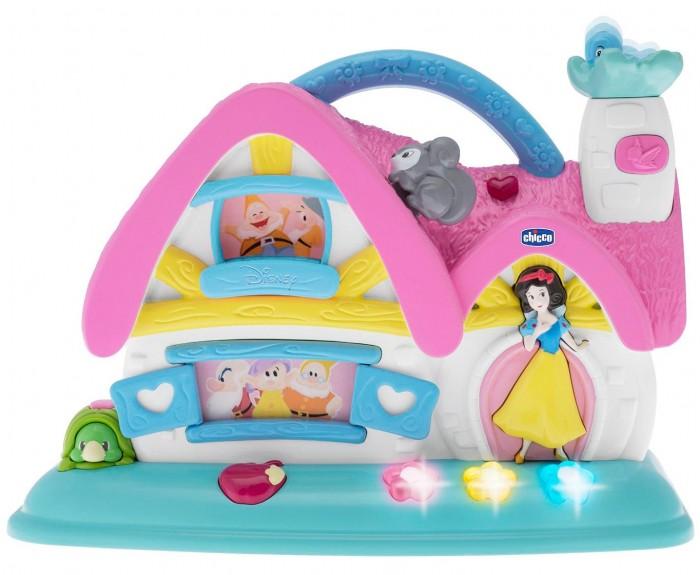 Электронные игрушки Chicco Музыкальный домик Белоснежка и 7 гномов 7599 кукольные домики chicco домик белоснежка и 7 гномов