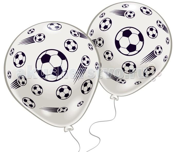 Товары для праздника Everts 8 шариков с рисунком Футбол