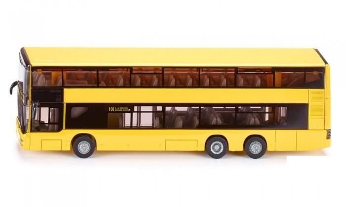 Машины Siku Автобус MAN городской двухэтажный 1884