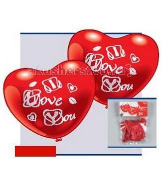 Товары для праздника Everts 5 фигурных шариков-сердец Я люблю тебя товары для дома
