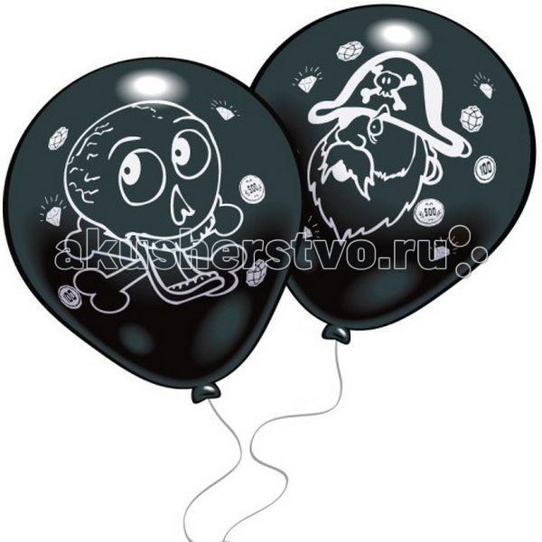 Товары для праздника Everts 8 шариков Пираты товары для дома