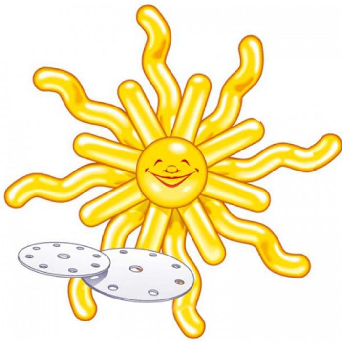 Товары для праздника Everts Набор шариков для декорирования Солнышко