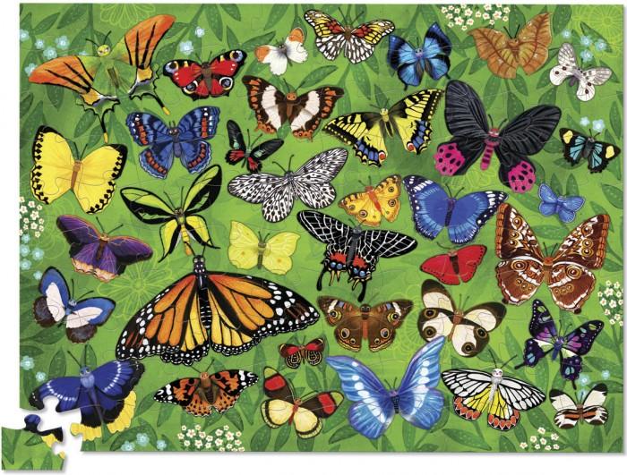 цена на Пазлы Crocodile Creek Пазл 36 Животных Бабочки (100 деталей)