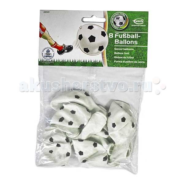 Товары для праздника Everts 8 шаров Футбольный мячик мячи для мини футбола селект супер лига