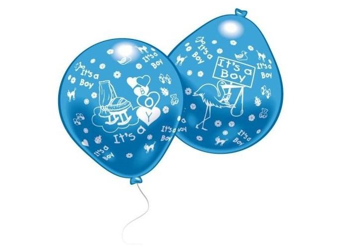 Товары для праздника Everts 10 шариков с рисунком Рождение малыша