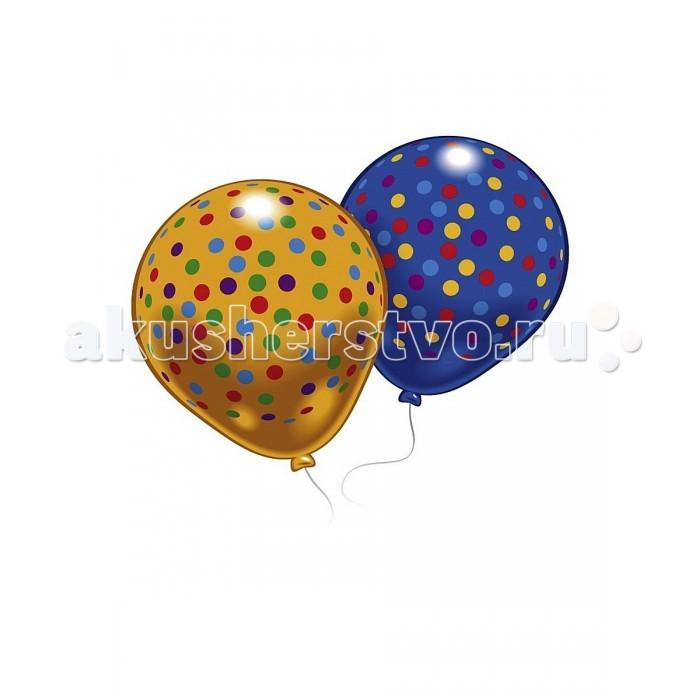 Товары для праздника Everts 8 шариков с рисунком Конфетти