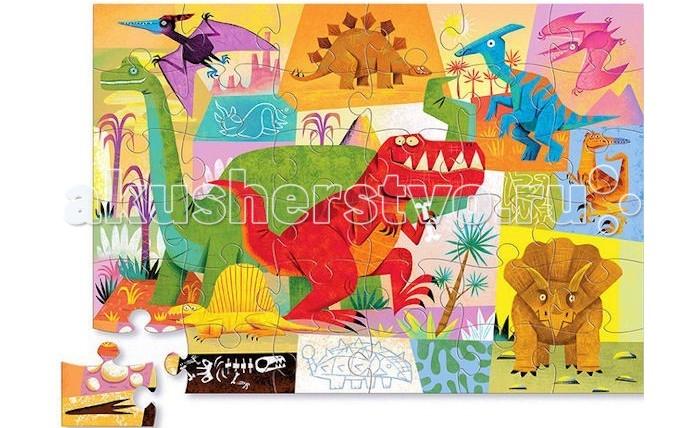 Crocodile Creek Пазл Динозавр (36 деталей)