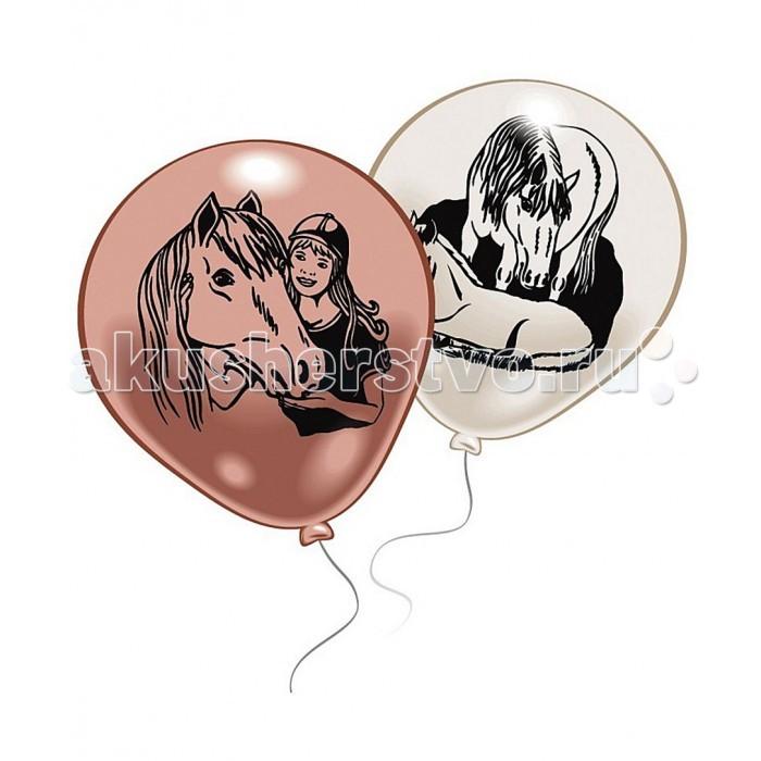 Товары для праздника Everts 10 шариков с рисунком Лошадки товары для дома