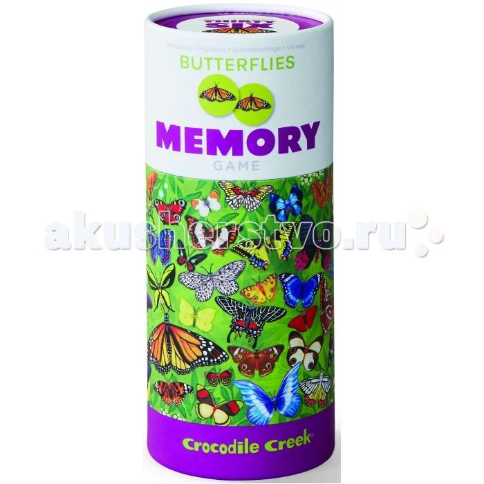 Настольные игры Crocodile Creek Головоломка игра Мемори Бабочки