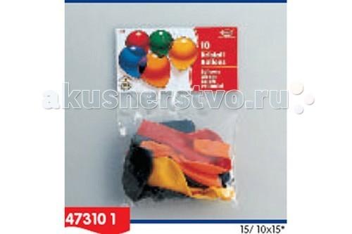 Товары для праздника Everts 10 разноцветных шаров Кристалл товары для дома