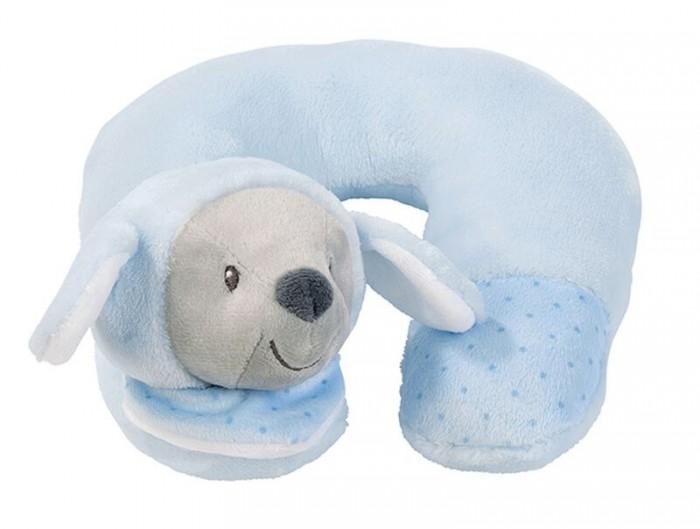 Nattou Игрушка мягкая Подголовник Neck pillow Sam & Toby Овечка