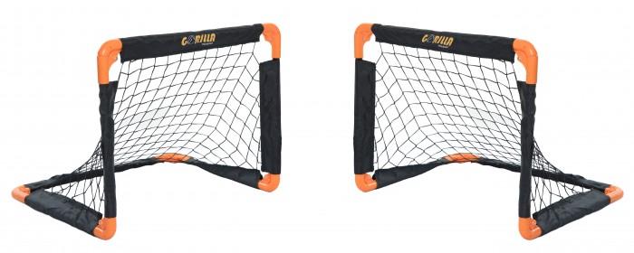 Спортивный инвентарь Gorilla Training Складные ворота со стальным каркасом и сеткой 2 шт., Спортивный инвентарь - артикул:581521