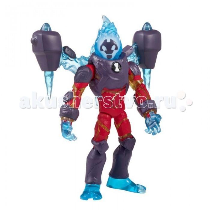 Игровые фигурки Ben-10 Фигурка Человек-огонь омни-усиленный 12.5 см