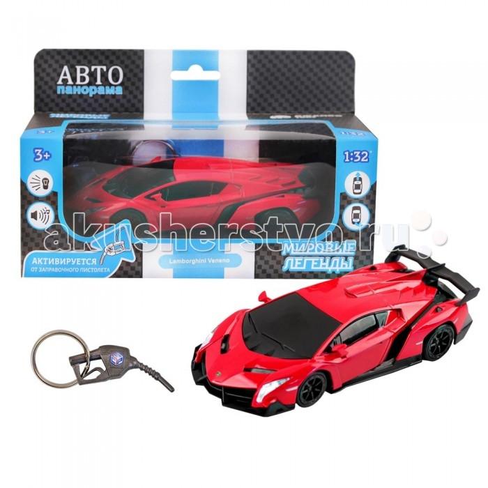 Машины Автопанорама Функциональная металлическая машинка Lamborghini Veneno 1:32 функциональная машинка врумиз люси
